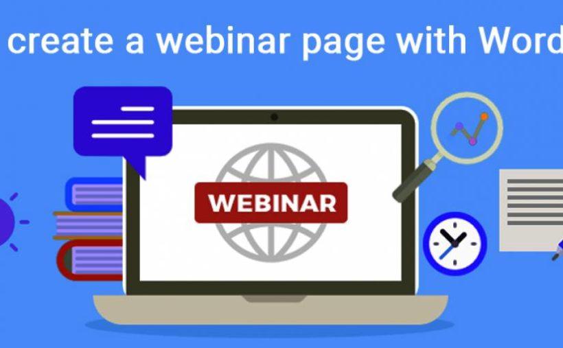 WordPress ile Web Semineri Sayfası Oluşturmayı Öğrenin