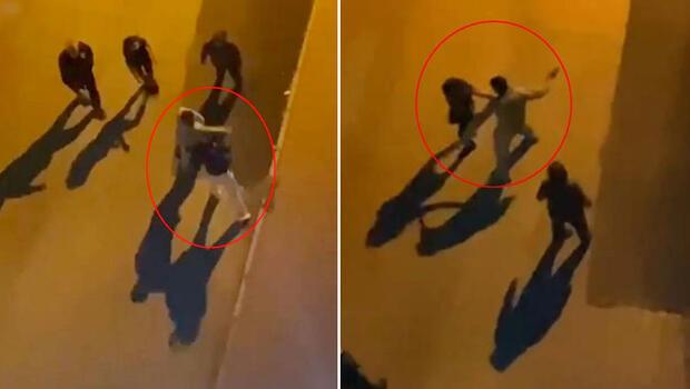 Antalya'da dehşet anları! Yol ortasında 2 kadını tokatlayıp kaçırmak istedi...