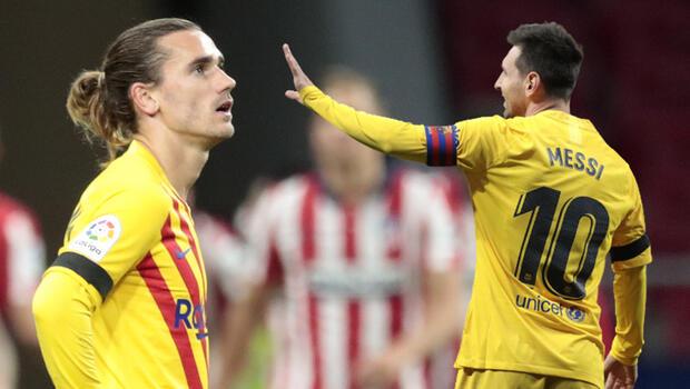Atletico Madrid 1-0 Barcelona (Maç sonucu)