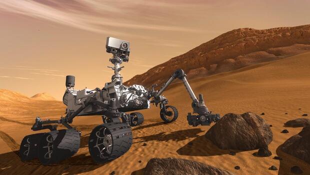 Curisty'nin Mars'taki 365 günü böyle görüntülendi