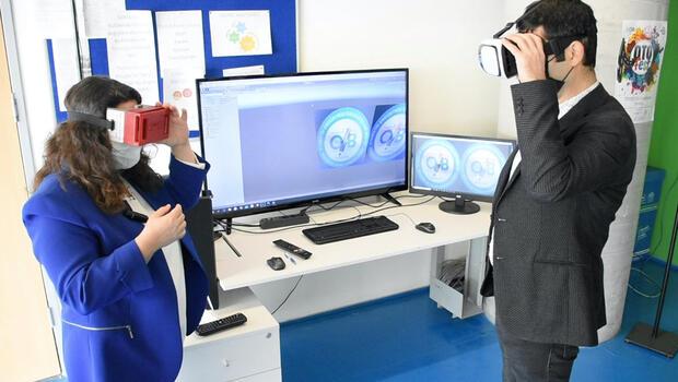 Uzaktan eğitim 'sanal gerçeklik' boyutuna taşındı