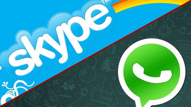 Microsoft: WhatsApp'ı bırak Skype kullan
