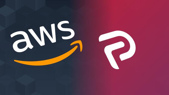 AWS (Amazon Web Services) ve Parler için logolar